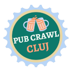 The logo for Cluj Pub Crawl