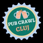 The logo for Cluj Pub Crawl